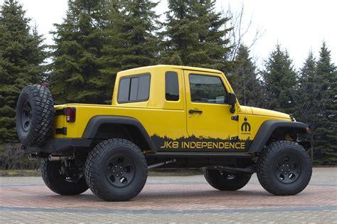 jeep announces  wrangler unlimited pickup  kit