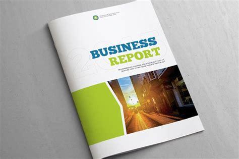 business report template brochure templates creative