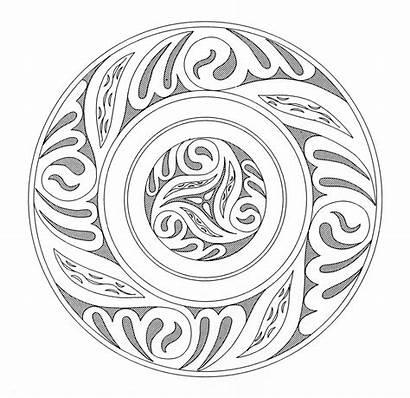 Mandala Celtic Coloring Pages Mandalas Geometric Patterns