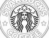 Starbucks Coloring Pages Printable Coffee Template Sketchite Behance sketch template
