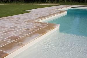 Margelle Pour Piscine : margelle de piscine en pierre naturelle de bourgogne ~ Melissatoandfro.com Idées de Décoration