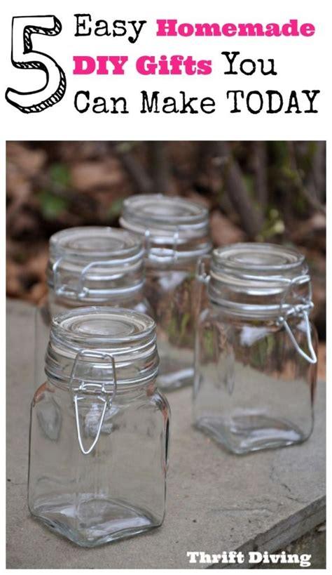homemade diy gift ideas     today jars