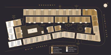 Broadway Palace  Site Map