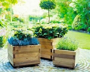 Bac A Fleur Exterieur : terrasse bois bac fleur ~ Dailycaller-alerts.com Idées de Décoration