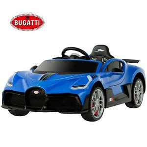 With its futuristic and ferocious design and its completely different personality. Uenjoy 12V Licensed Bugatti Divo Kids Ride On Car Electric ...
