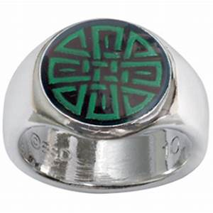 Bob Siemon Designs. Purity Men's Christian Ring - Celtic ...