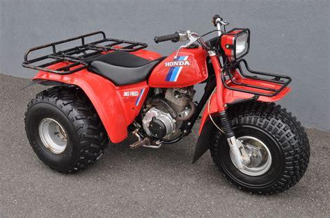 1984 Honda Atc 200es Big Red Three Wheeler Clean Rare