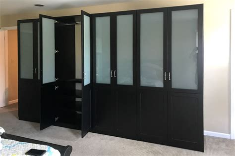 Black Wardrobe by Closet Works Wardrobes Closets Custom Built In Black