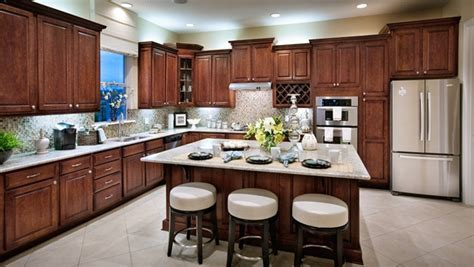 Toll Brothers Moreda Kitchen with Spacious Island