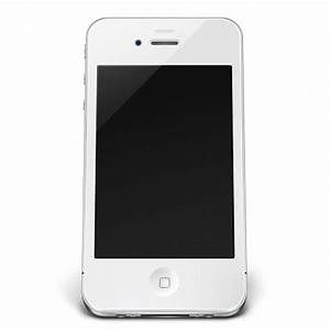 iPhone Off White Icon - iPhone 4 Icons - SoftIcons.com