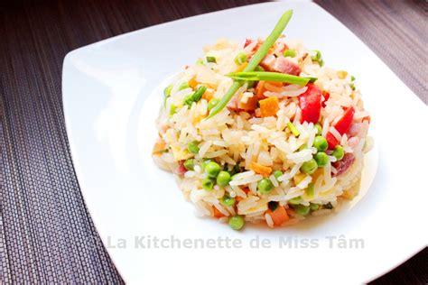 cours cuisine vietnamienne riz sauté aux lardons et aux légumes la kitchenette de
