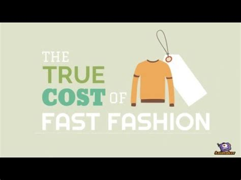 The True Cost Of Fastfashion  Youtube