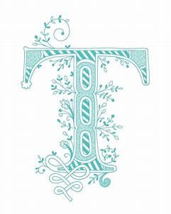 53 best The letter T images on Pinterest   Letters ...