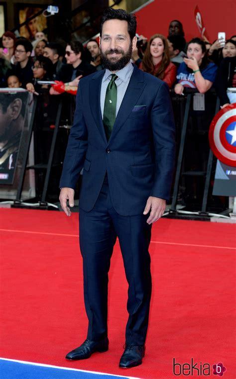 Paul Rudd en la premiere de la película 'Capitán América ...