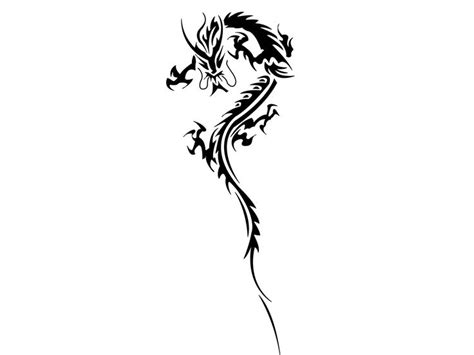 japanese tribal dragon   ground tattoo wallpaper design material dragon tattoo designs
