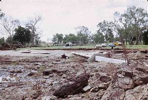 Damage caused by Cyclone Ada, Collinsville, 1970 ...