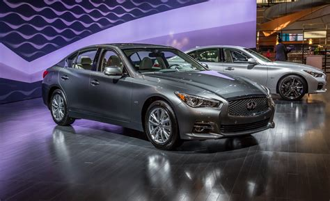 Infiniti Announces Four-cylinder, Hybrid 2016 Q50 Pricing