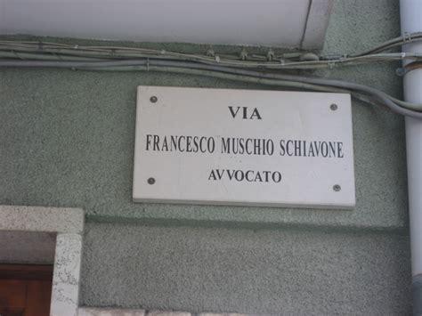Ufficio Toponomastica by Toponomastica Muschio Schiavone Vs Bascio