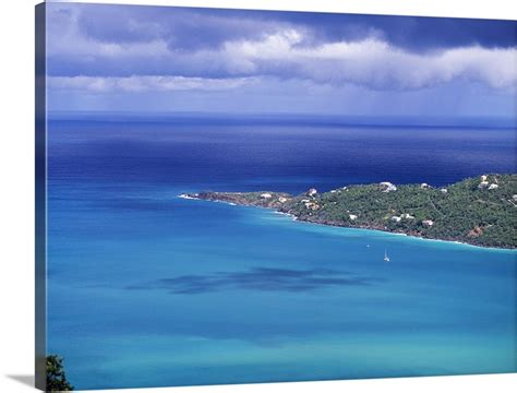 Magens Bay St Thomas Us Virgin Islands Wall Art Canvas