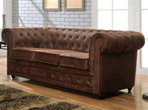 canape chesterfield vintage pas cher