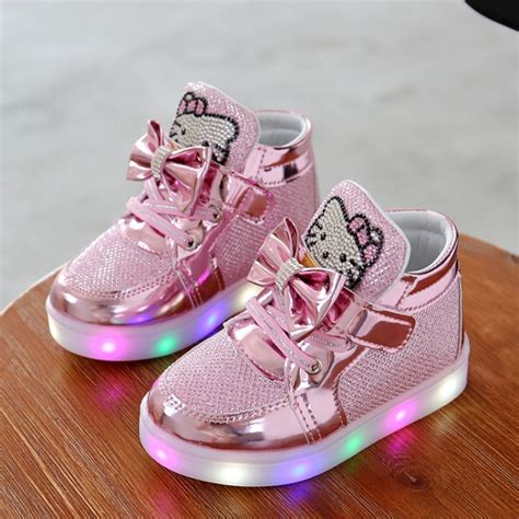 baby light up shoes fashion led girls shoes baby shoes kids light up glowing