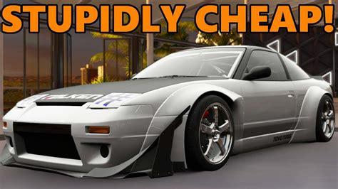 forza horizon   hp sx cheapest drift car