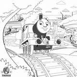 Train Steam Coloring Thomas Drawing Locomotive Engine Pages Tank Printable James Worksheet Getdrawings Popular Rail Track sketch template