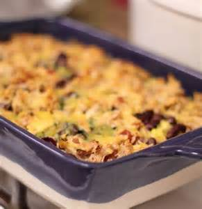 Mexican Chicken Rice Bake Casserole