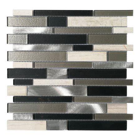 decorative glass stone metal tile  kitchen