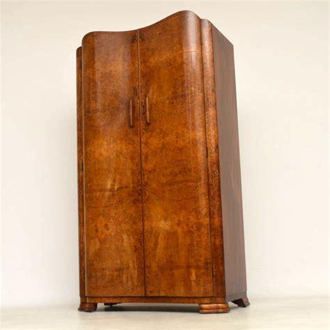 Walnut Wardrobe by 1920 S Vintage Deco Walnut Wardrobe Retrospective
