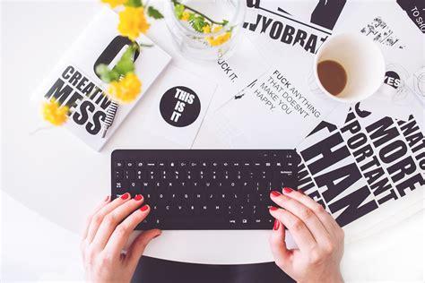 photo girl woman typing writing  image