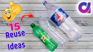 15 Most Amazing Way To Reuse Plastic Bottle