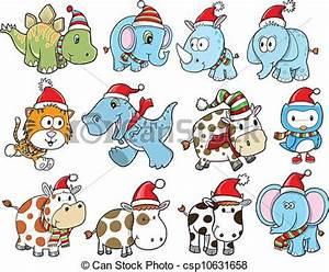 Cute christmas holiday winter set. Cute christmas holiday ...