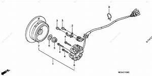 Honda Motorcycle 2004 Oem Parts Diagram For Alternator