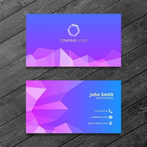 abstract  psd business card templates