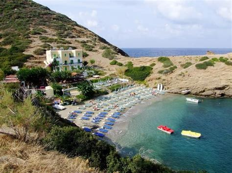 beautiful karavostasis beach  crete greece