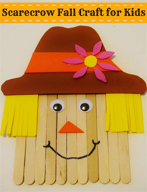 Scarecrow Fall Craft For Kids  Surviving A Teacher's Salary