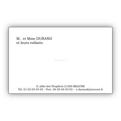 modèle carte de visite personnelle classique carte de visite format arts et voyages