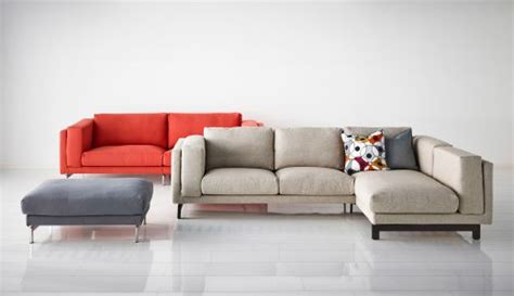 Comfortable Corner Sofa, Footstool And Sofa From The