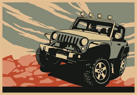 jeep logo vector jeep free vector art 3193 free downloads