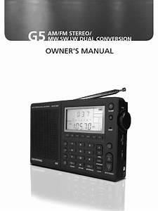 Grundig G5 Manual