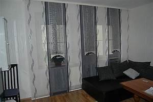 Schiebegardinen Für Wohnzimmer : wohnzimmer schiebegardine im wellendesign mit dekonetzen ~ Markanthonyermac.com Haus und Dekorationen