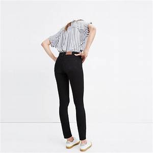 8 Quot Skinny Jeans In Black Frost Shopmadewell Skinny Jeans