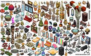 Lots Of Isometric Objetcs For By Rbl3d On