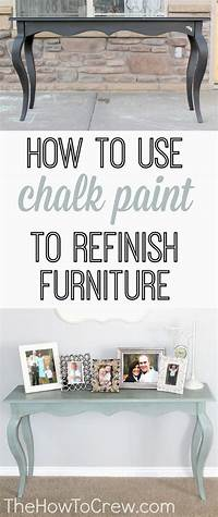 how to use chalkboard paint Dining Table Furniture - WoodWorking Projects & Plans