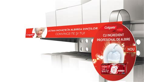 POSMs and Print for Colgate MW Expert White Launch on Behance