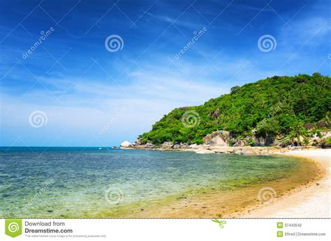 tropical island landscape beautiful tropical landscape samui island thailand stock photography image 37443542