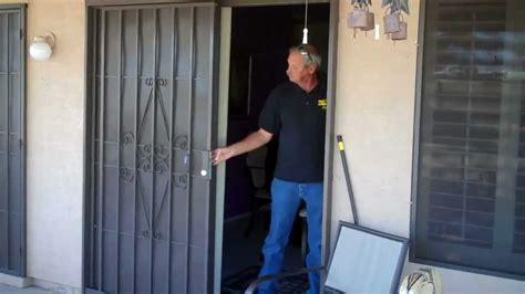sliding patio security doors  day star screens    youtube