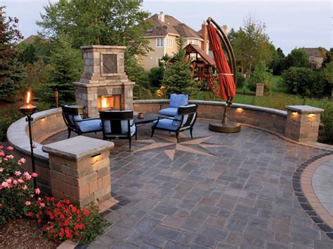 unilock fireplace cost before you choose for your outdoor fireplace
