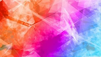 Colorful Abstract Background Backgrounds Desktop Wallpapers Polygonal